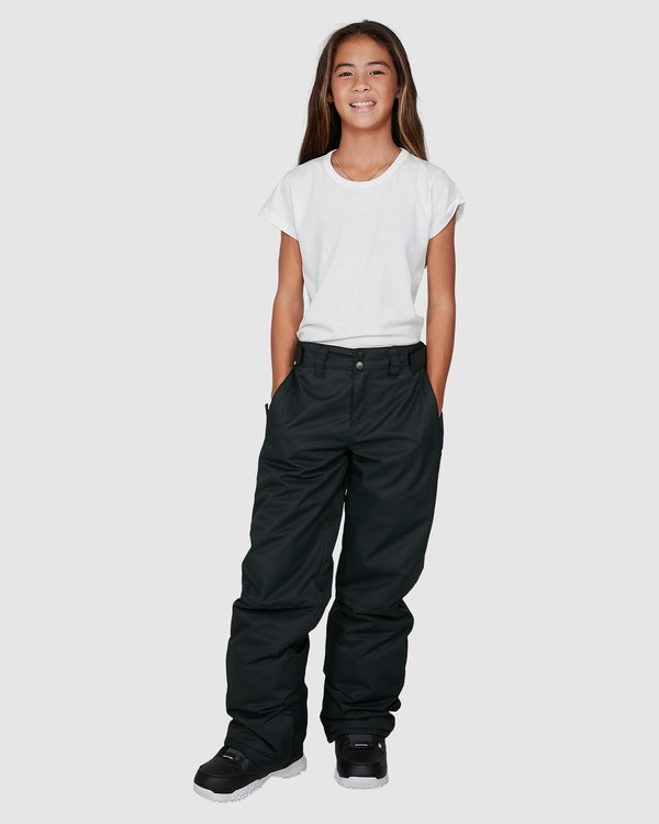 0 Girls Alue Pants Black U6PG20S Billabong