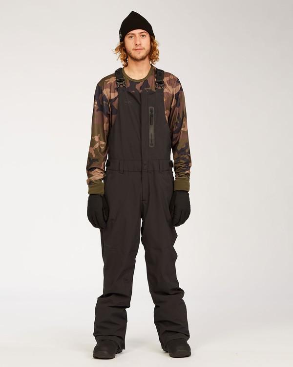 0 Adventure Division Collection North West Stx - Pantalón peto para nieve para Hombre Negro U6PM20BIF0 Billabong