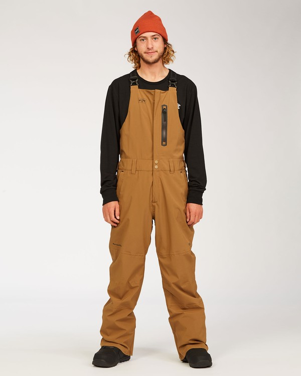 0 Adventure Division Collection North West Stx - Pantalón peto para nieve para Hombre Marron U6PM20BIF0 Billabong