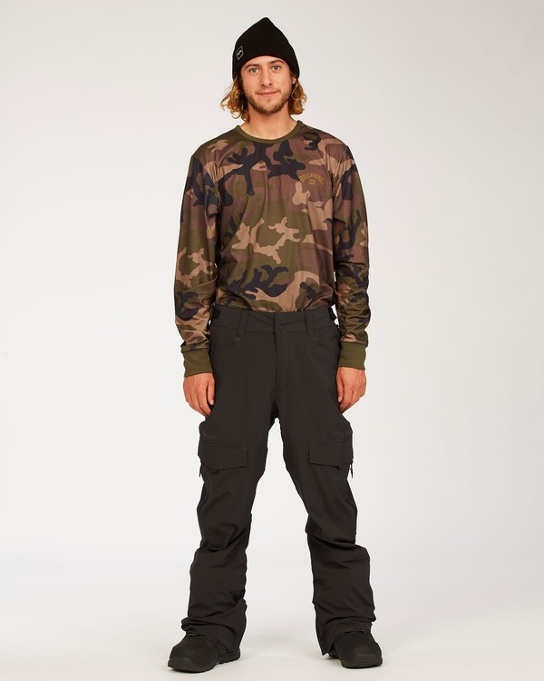 0 Adventure Division Collection Ascent Stx - Snow Pants for Men Black U6PM21BIF0 Billabong