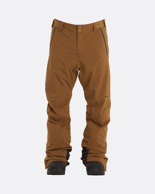 0 Adventure Division Collection Compass - Snow Pants for Men Brown U6PM22BIF0 Billabong