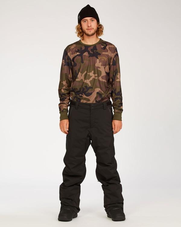 0 Adventure Division Collection Compass - Snow Pants for Men Black U6PM22BIF0 Billabong