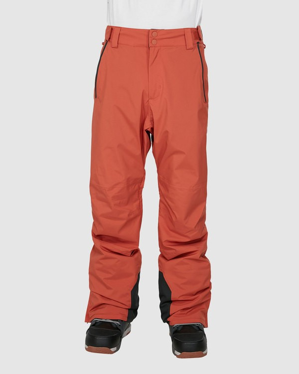 0 Compass Pants Orange U6PM22S Billabong