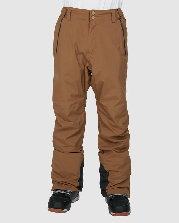 0 Compass Pants Brown U6PM22S Billabong