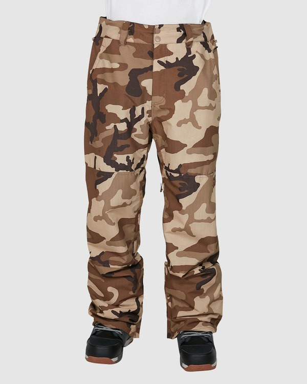 0 Tuck Knee Pants Camo U6PM23S Billabong