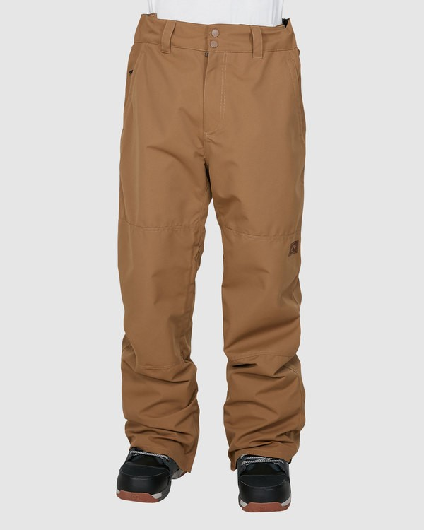 0 Tuck Knee Pants Brown U6PM23S Billabong