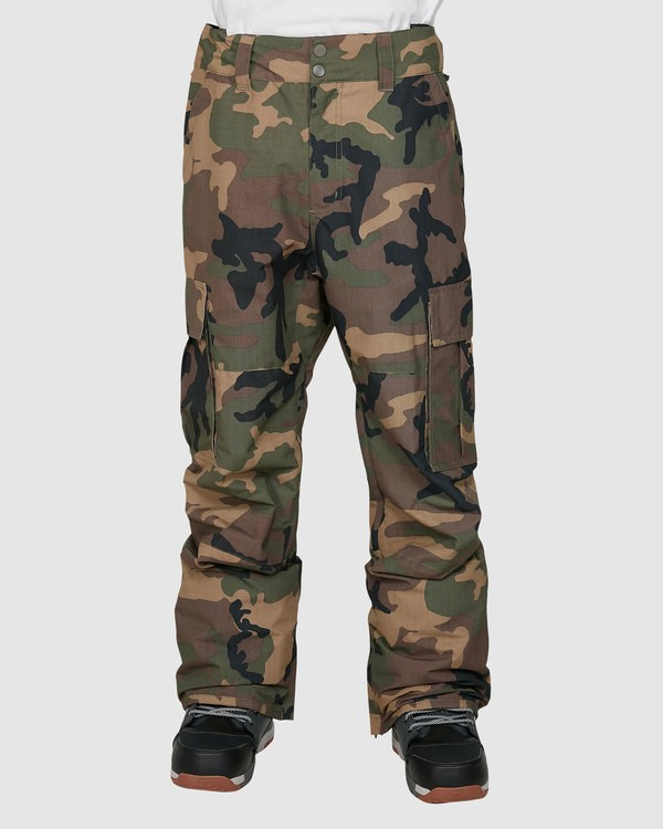 0 Transport Pants Camo U6PM24S Billabong