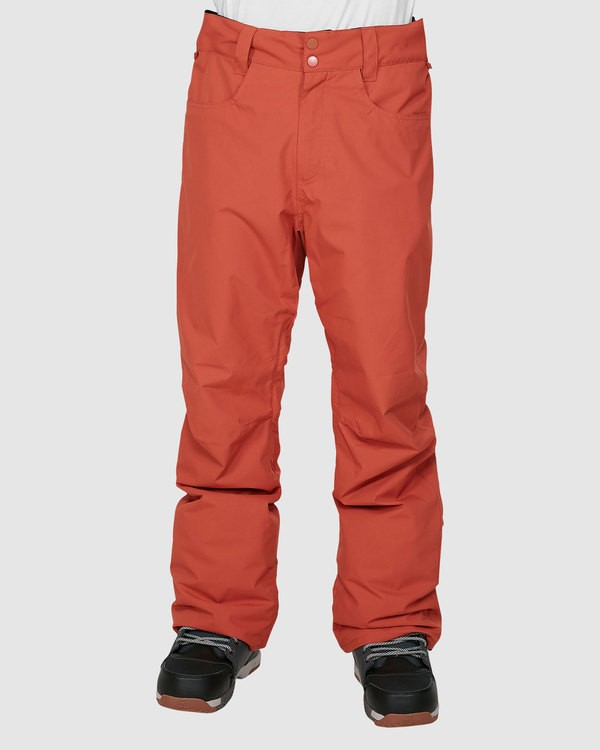 0 Outsider Pants Orange U6PM25S Billabong