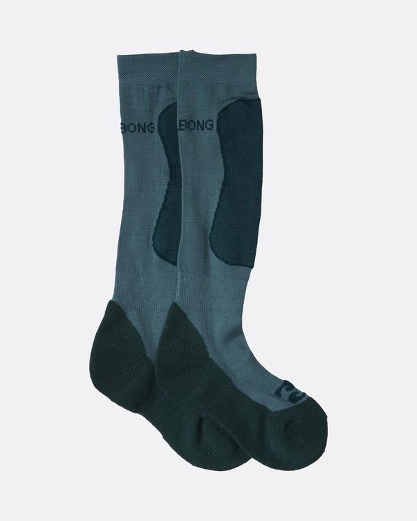 0 Adventure Division Collection Compass - Socken aus Merino-Wolle für Frauen  U6SO04BIF0 Billabong