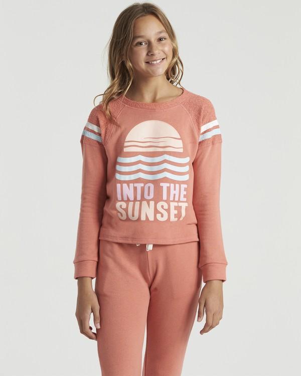 0 Lounge Life- Sweatshirt for Girls  U8CR03BIF0 Billabong