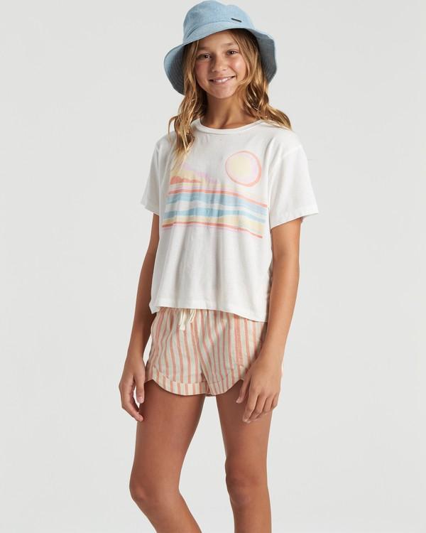 0 Seaside Dreaming- T-Shirt for Girls Beige U8SS02BIF0 Billabong
