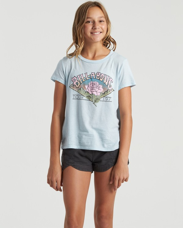 0 World Tour - T-Shirt for Girls  U8SS04BIF0 Billabong