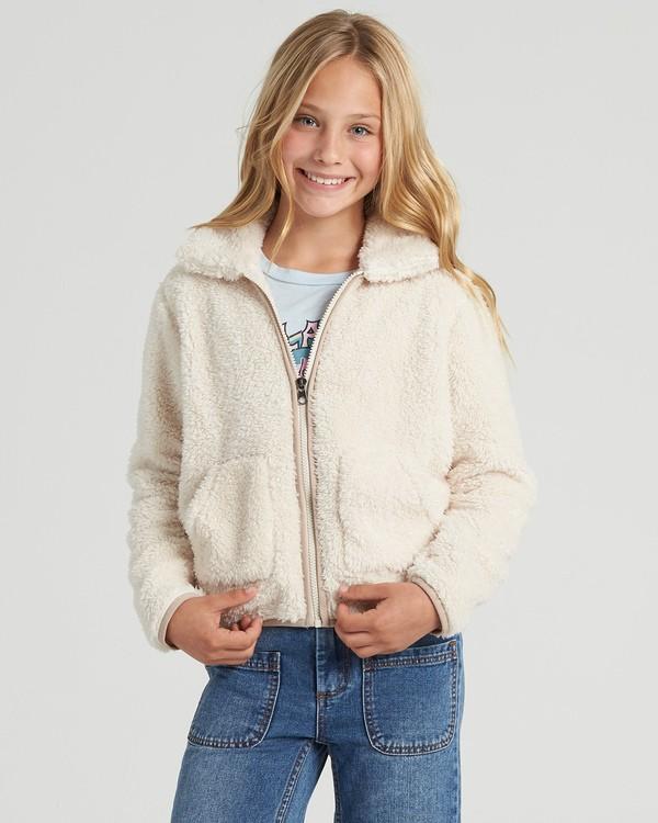 0 Warm And Cozy - Fleece für Mädchen Weiss U8WA02BIF0 Billabong