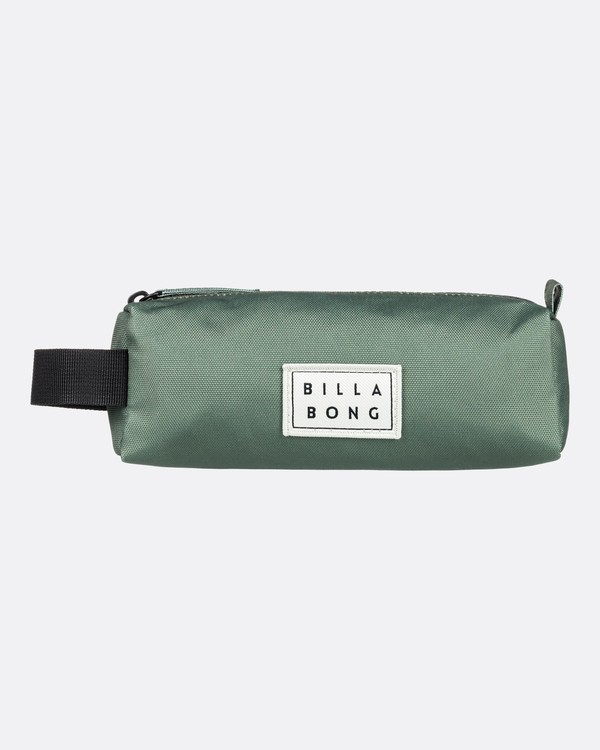 0 Sharpen Up  - Pencil Case Green U9PE01BIF0 Billabong