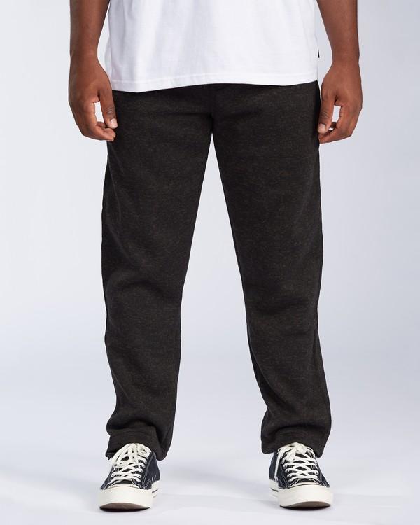 0 Boundary - Pantalon de jogging pour Homme Noir V1PT06BIMU Billabong
