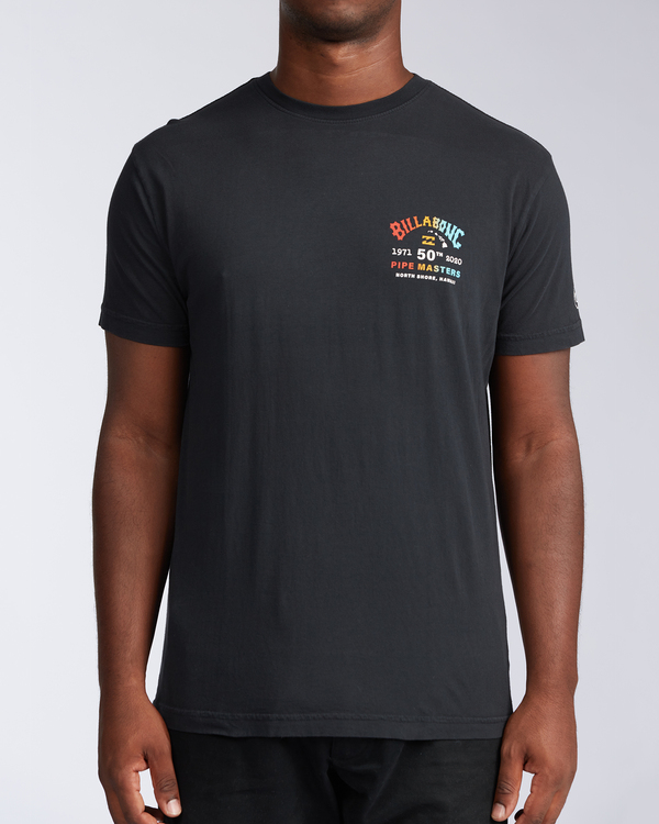 0 Pipe Master - T-Shirt für Männer Schwarz V1SS38BIW0 Billabong