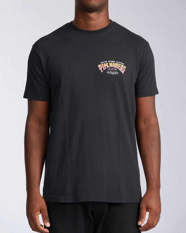 0 Pipe Tube Art - T-Shirt for Men Black V1SS40BIW0 Billabong