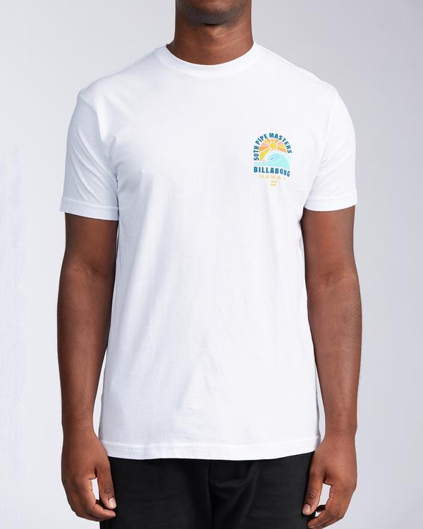 0 Wave - T-shirt pour Homme Blanc V1SS41BIW0 Billabong