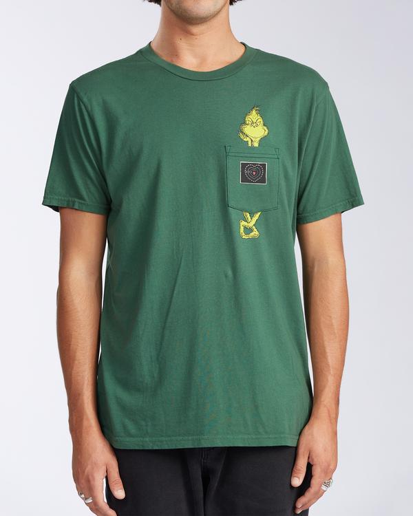 0 Xray - T-shirt avec poche pour Homme Vert V1SS52BIW0 Billabong