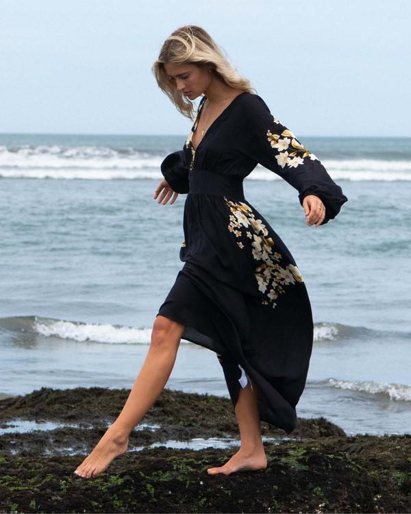 0 Night Bloom - Vestido largo para Mujer Negro V3DR02BIMU Billabong