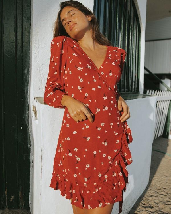 0 Lovin You - Vestido envolvente para Mujer  V3DR08BIW0 Billabong