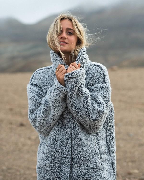 0 Cozy Days - Polarfleece-Jacke für Frauen Grau V3WA01BIW0 Billabong
