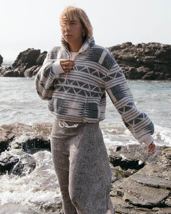 0 Time Off - Sherpa Fleece for Women White V3WA02BIW0 Billabong