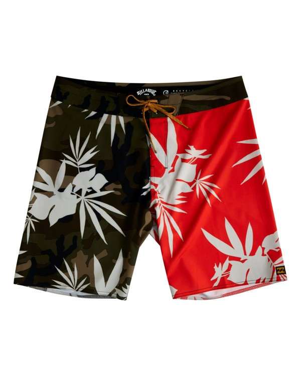"""0 Sundays Airlite 19"""" - Recycled Board Shorts for Men Red W1BS16BIP1 Billabong"""