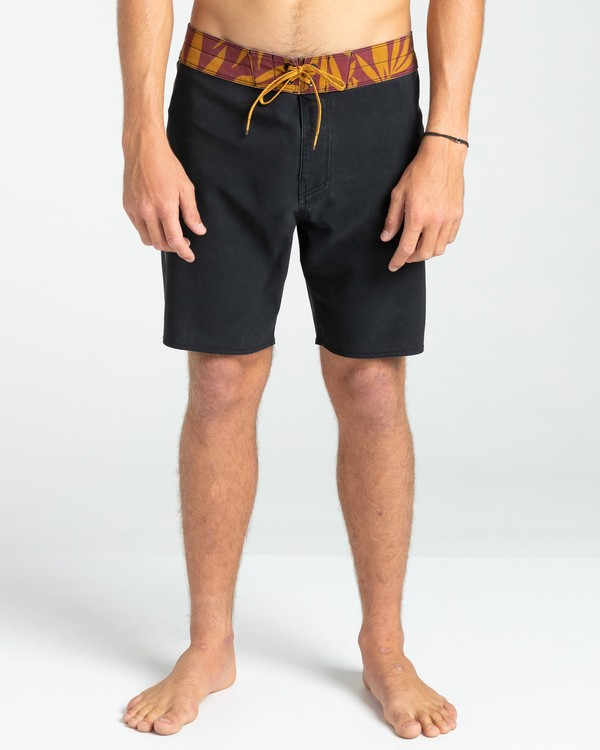 """0 All Day Pigment Pro 17"""" - Recycled Board Shorts for Men Black W1BS67BIP1 Billabong"""