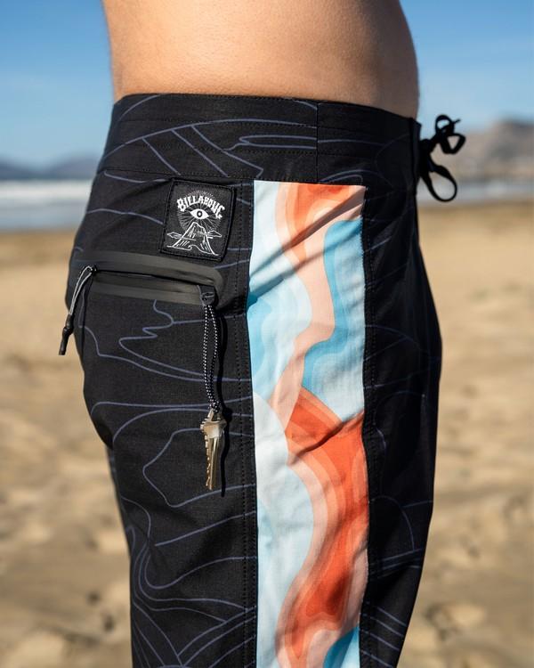 """0 Adventure Division Dunes 18"""" - Boardshorts für Männer Schwarz W1BS76BIP1 Billabong"""