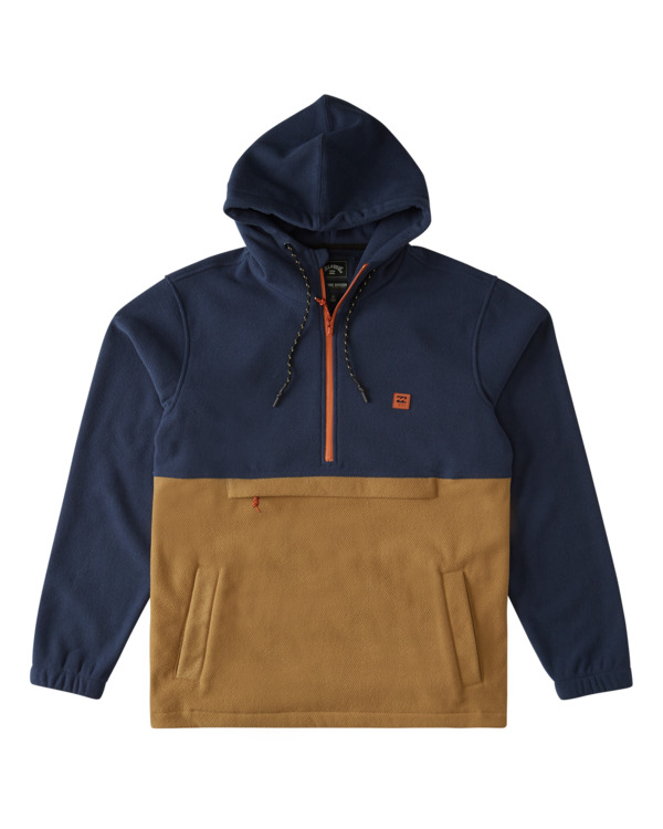 0 Boundary - Sudadera con capucha para Hombre Azul W1FL26BIP1 Billabong