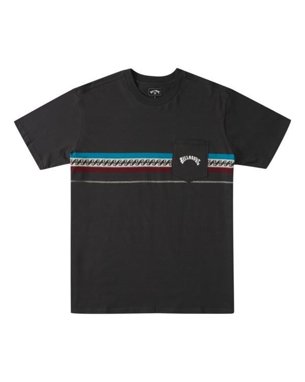 0 Spinner - T-shirt pour Homme Noir W1JE23BIP1 Billabong