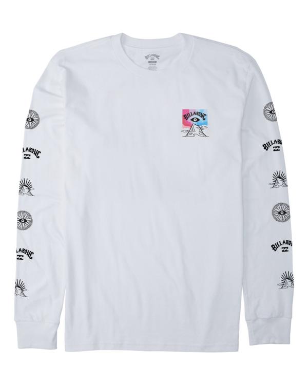 0 Adventure Division Eyesolation - Camiseta de manga larga para Hombre Blanco W1LS19BIP1 Billabong