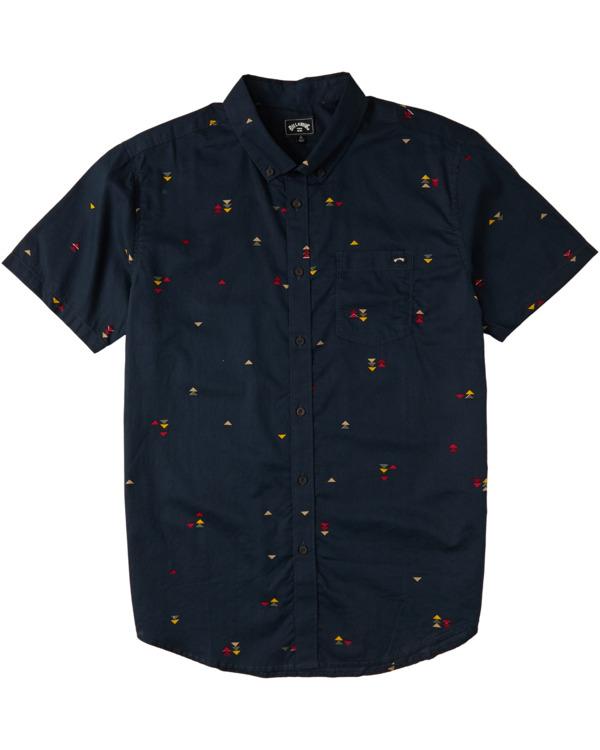 0 Sundays Mini - Camiseta para Hombre Azul W1SH20BIP1 Billabong