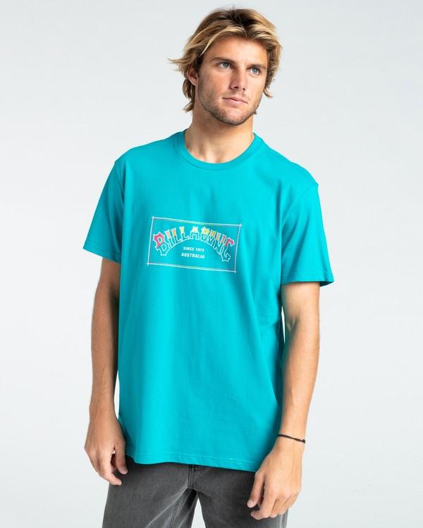 0 Arch - T-shirt pour Homme Vert W1SS07BIP1 Billabong