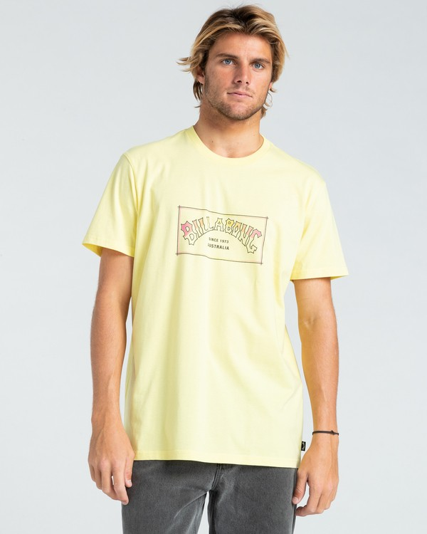 0 Arch - T-shirt pour Homme Jaune W1SS07BIP1 Billabong