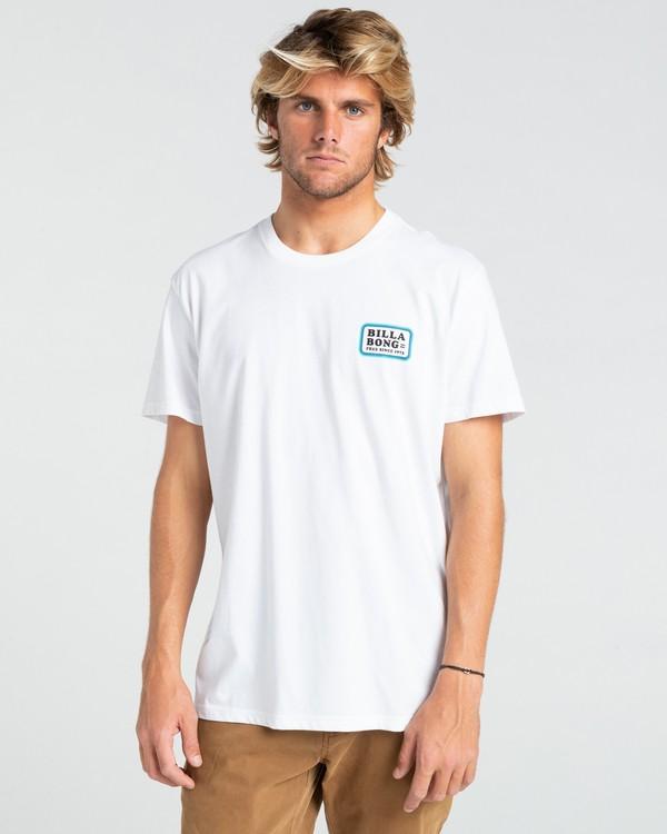 0 Walled - T-shirt pour Homme Blanc W1SS32BIP1 Billabong