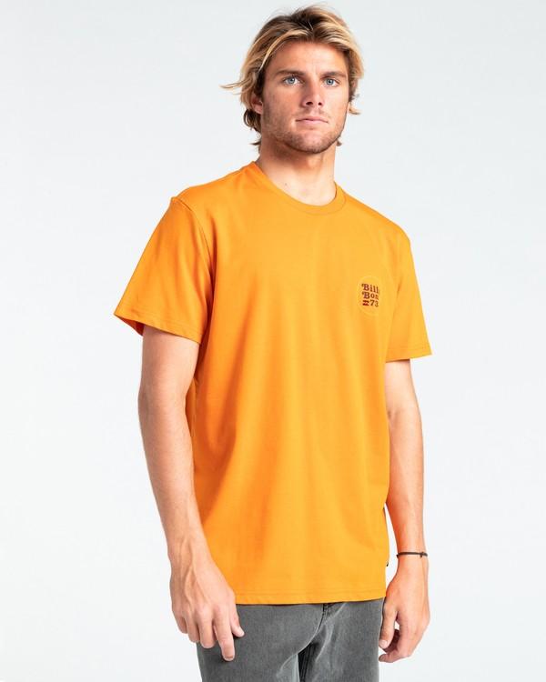 0 Walled - T-shirt pour Homme Orange W1SS32BIP1 Billabong