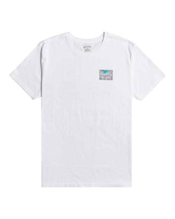 0 Crayon Wave - T-Shirt for Men White W1SS48BIP1 Billabong