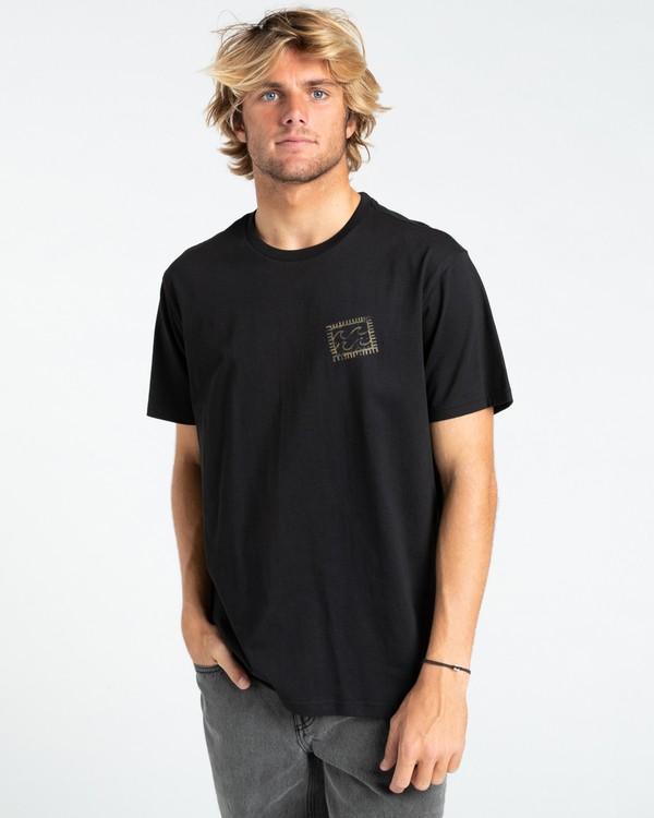 0 Crayon Wave - T-Shirt for Men Black W1SS48BIP1 Billabong