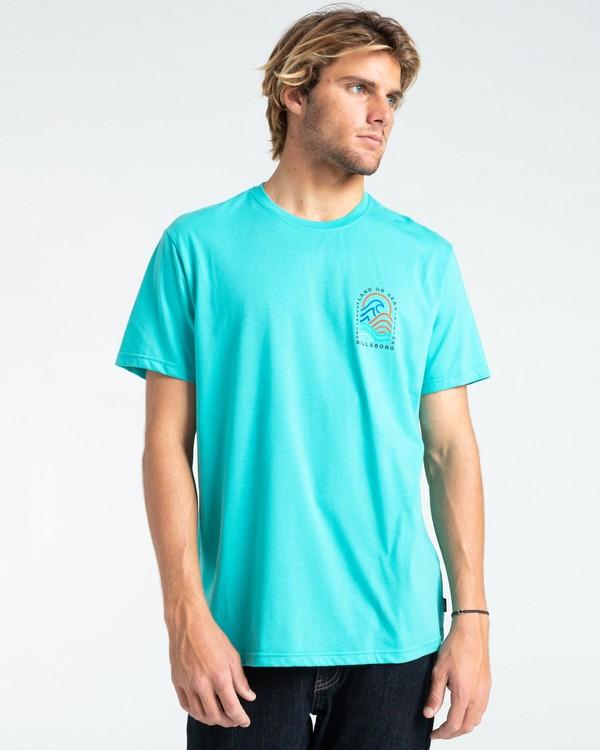 0 Adventure Division Transition - Camiseta para Hombre Azul W1SS70BIP1 Billabong