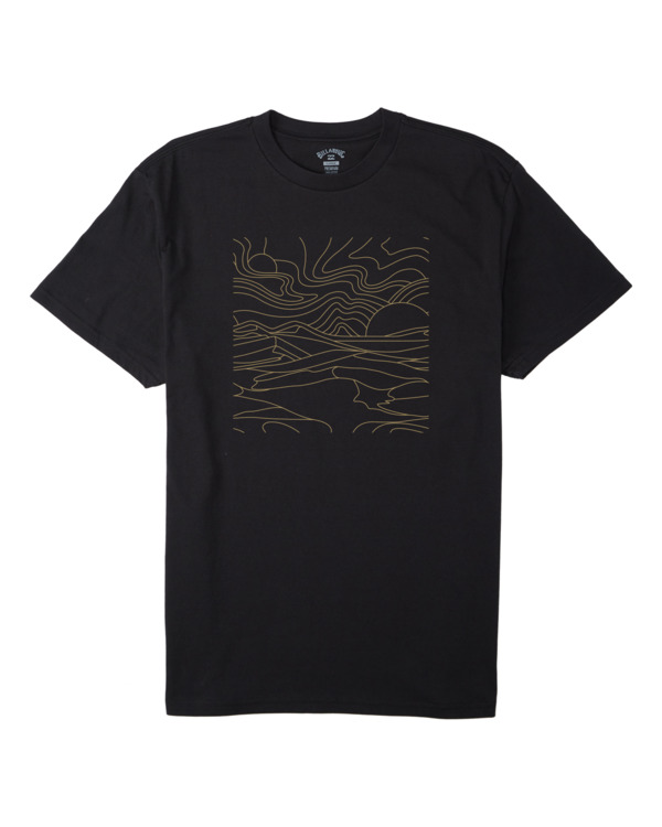 0 Adventure Division Lines - T-Shirt for Men Black W1SS94BIP1 Billabong