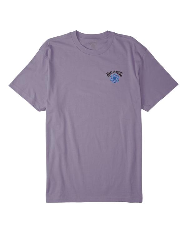 0 Adventure Division Night Mind - T-Shirt für Männer Violett W1SS95BIP1 Billabong
