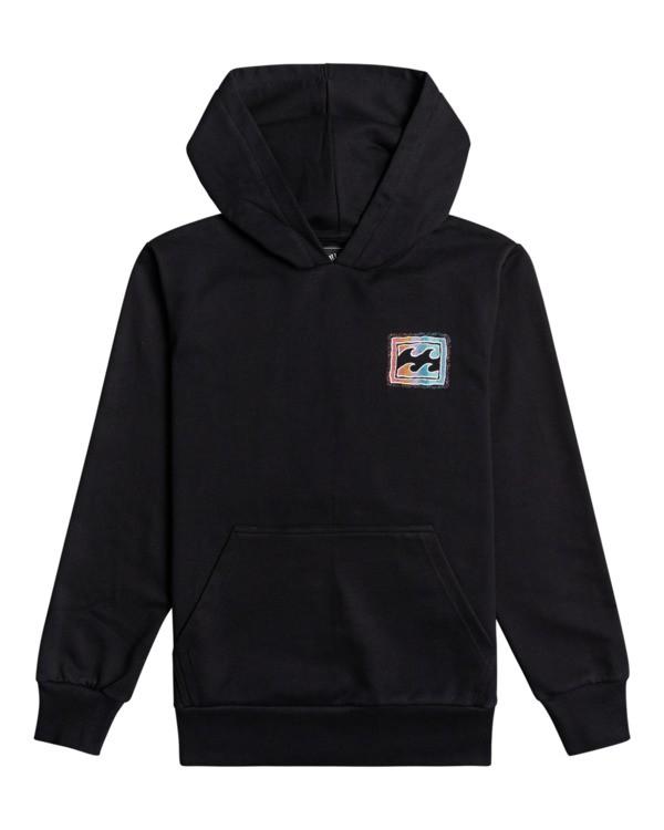 0 Crayon Wave - Sweatshirt für Jungen Schwarz W2HO03BIP1 Billabong