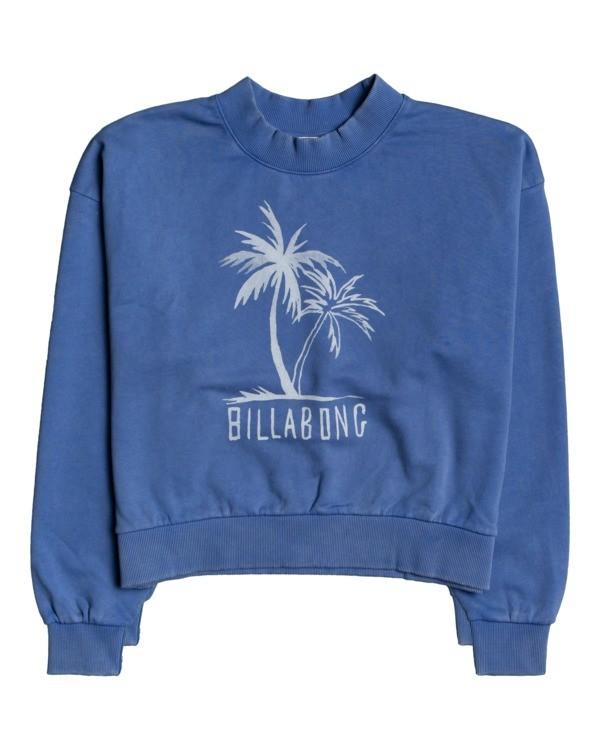 0 Dos Palms - Sweatshirt for Women Azul W3CR02BIP1 Billabong