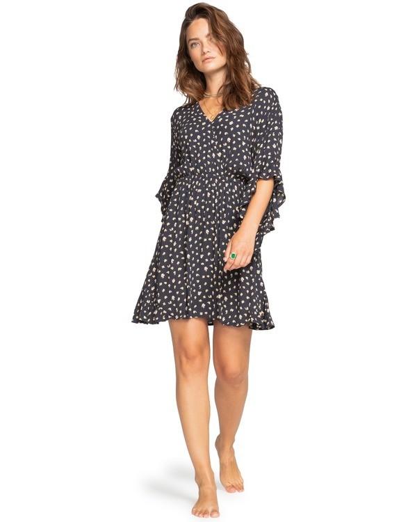 0 Love Light - Mini vestido para Mujer Negro W3DR04BIP1 Billabong