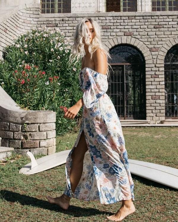 0 Dreamer - Vestido largo para Mujer Multicolor W3DR27BIP1 Billabong