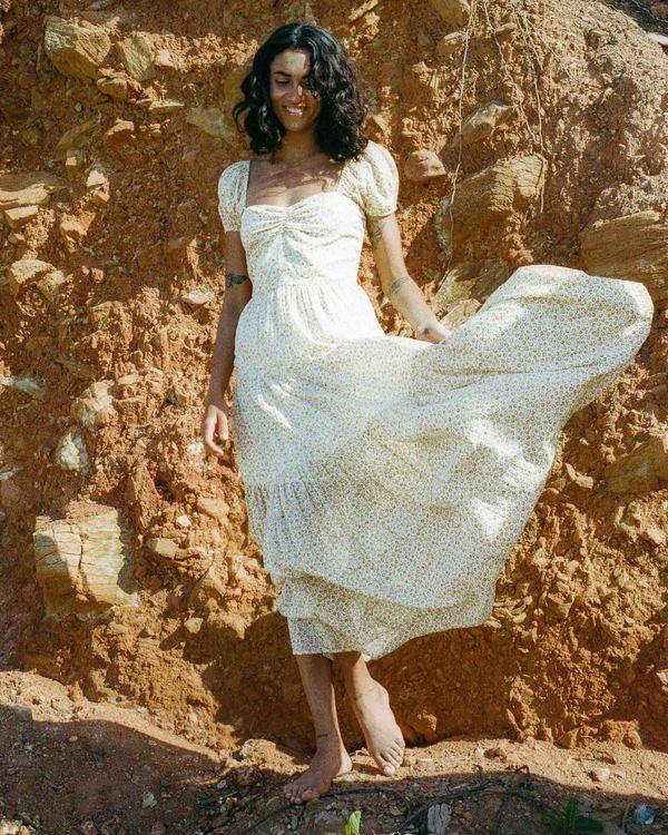 0 Sunrise - Vestido largo para Mujer Amarillo W3DR41BIP1 Billabong