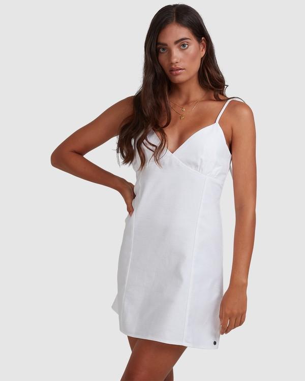 0 Sunny Dayz - Mini Flare Dress for Women White W3DR48BIP1 Billabong