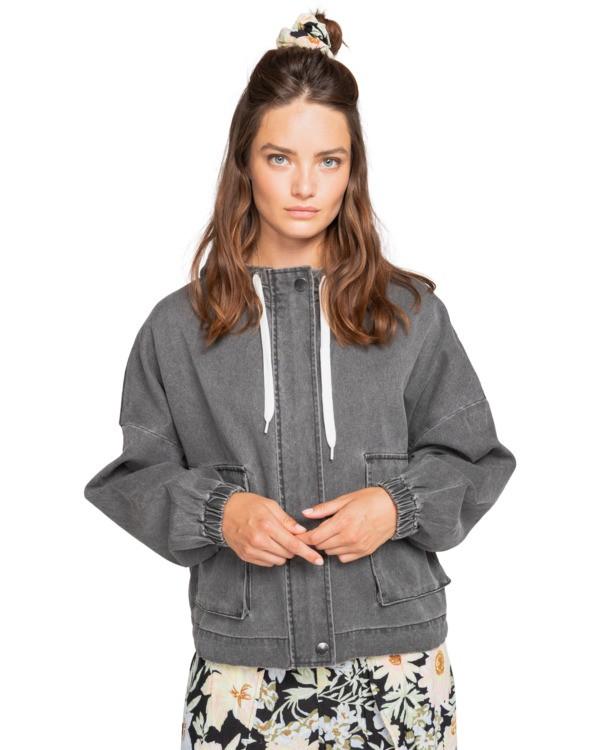0 Spring - Sportliche Jacke für Frauen Schwarz W3JK01BIP1 Billabong